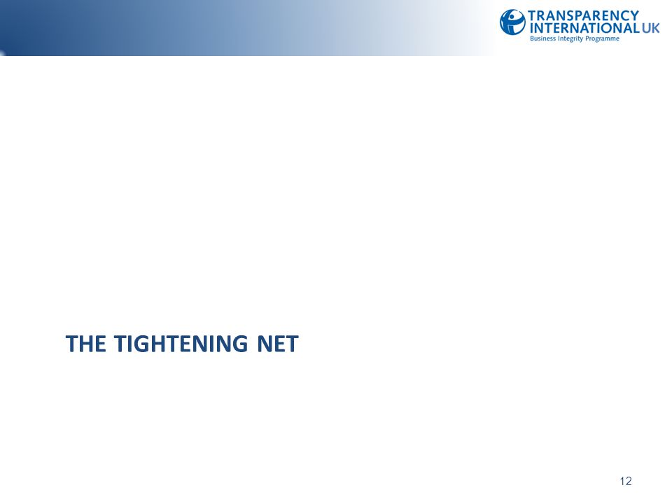 The tightening net