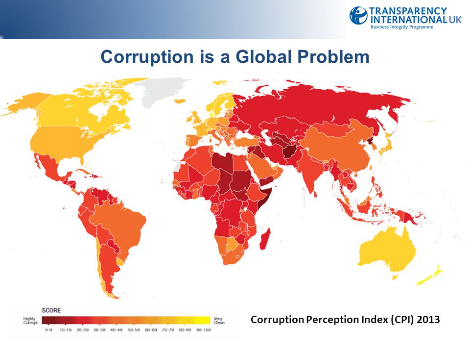 Corruption is a Global Problem
