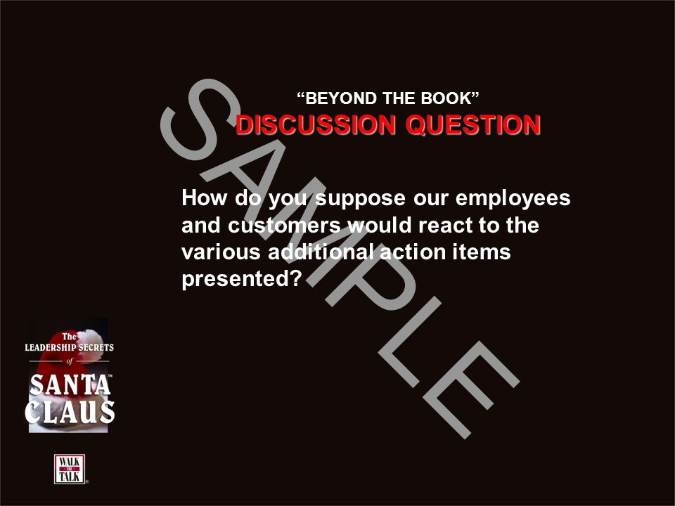 BEYOND THE BOOK DISCUSSION QUESTION.