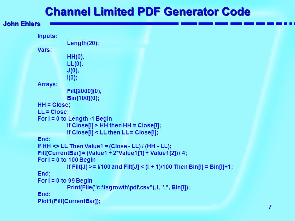 Channel Limited PDF Generator Code