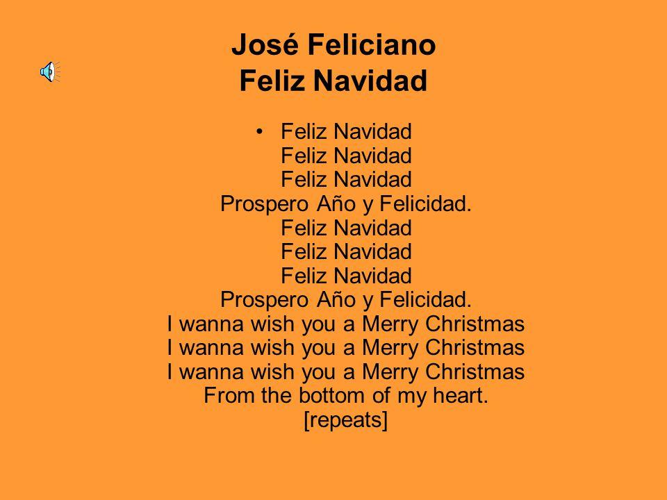 José Feliciano Feliz Navidad