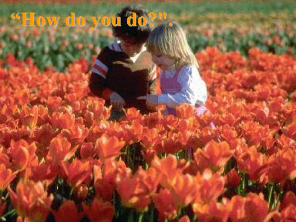 How do you do .
