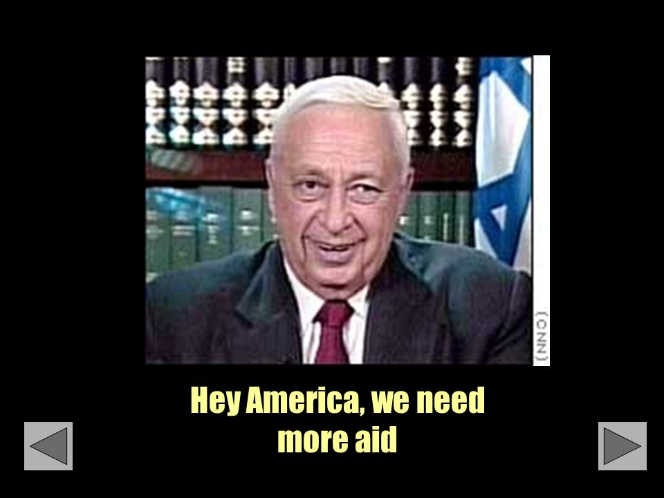 Hey America, we need more aid