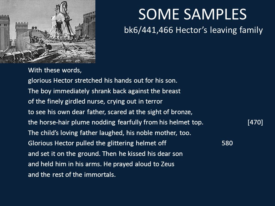 SOME SAMPLES bk6/441,466 Hector's leaving family