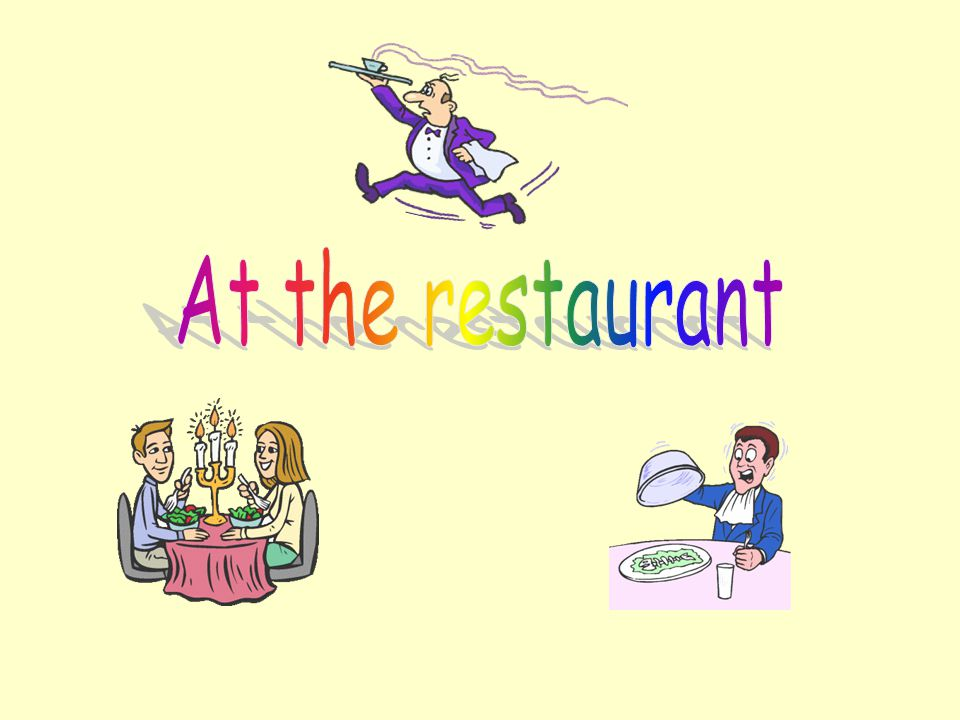 At the restaurant
