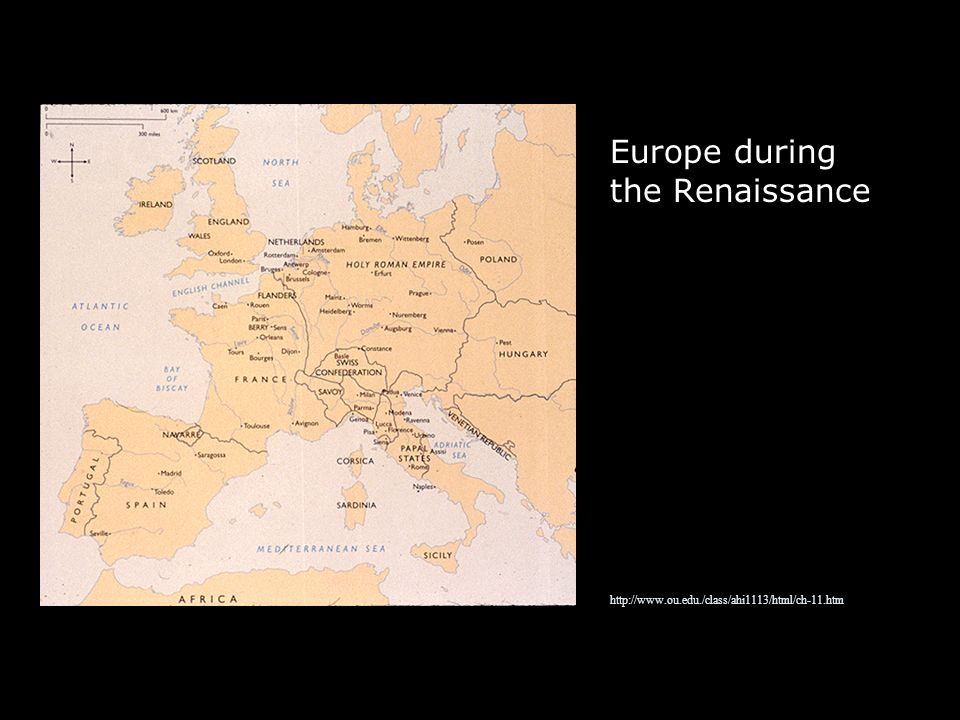 Europe during the Renaissance   ou. edu