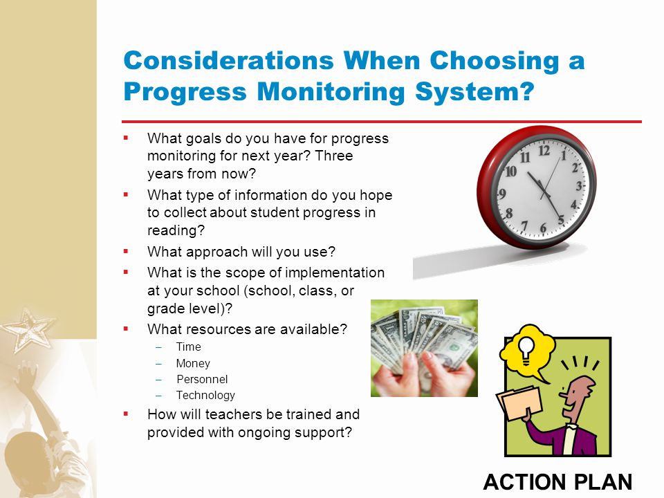 Considerations When Choosing a Progress Monitoring System