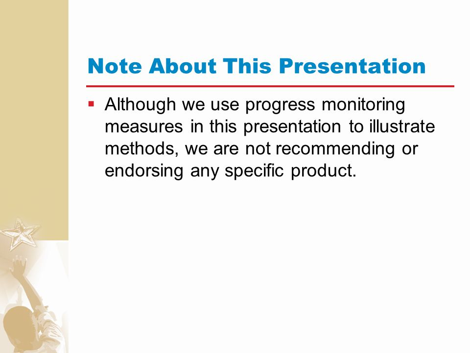 Note About This Presentation