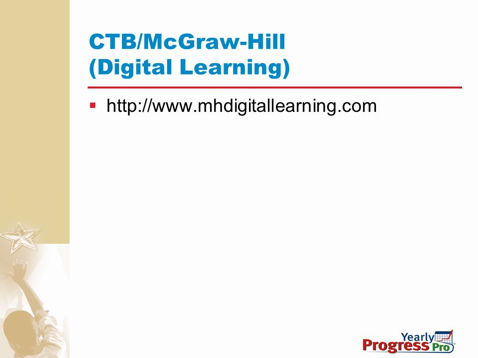 CTB/McGraw-Hill (Digital Learning)