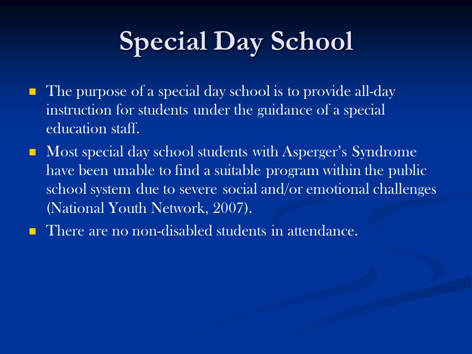 Special Day School
