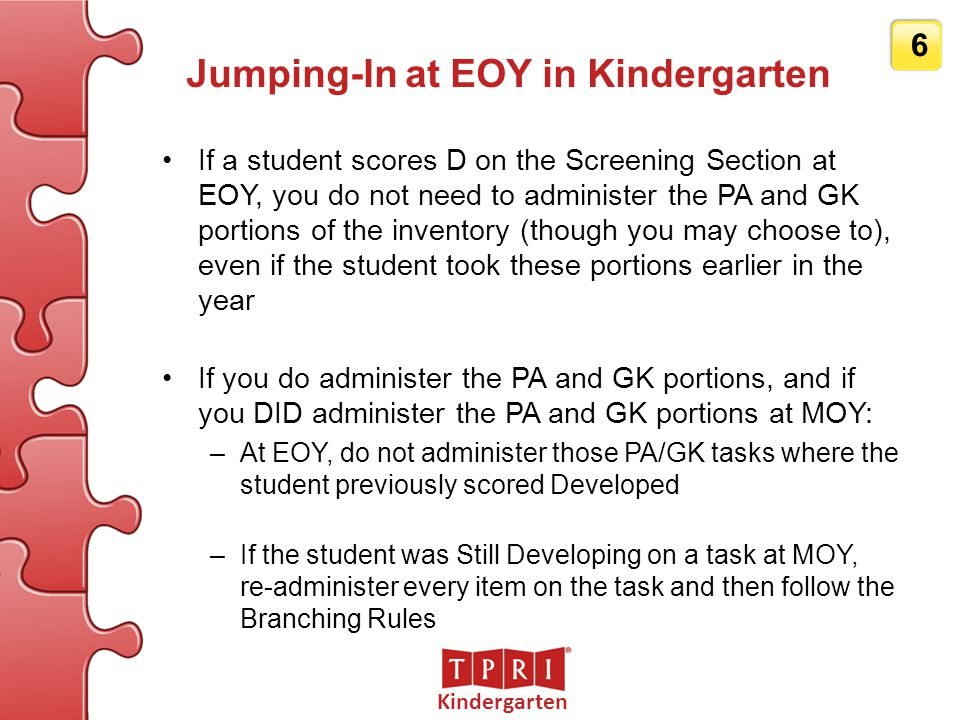 Jumping-In at EOY in Kindergarten