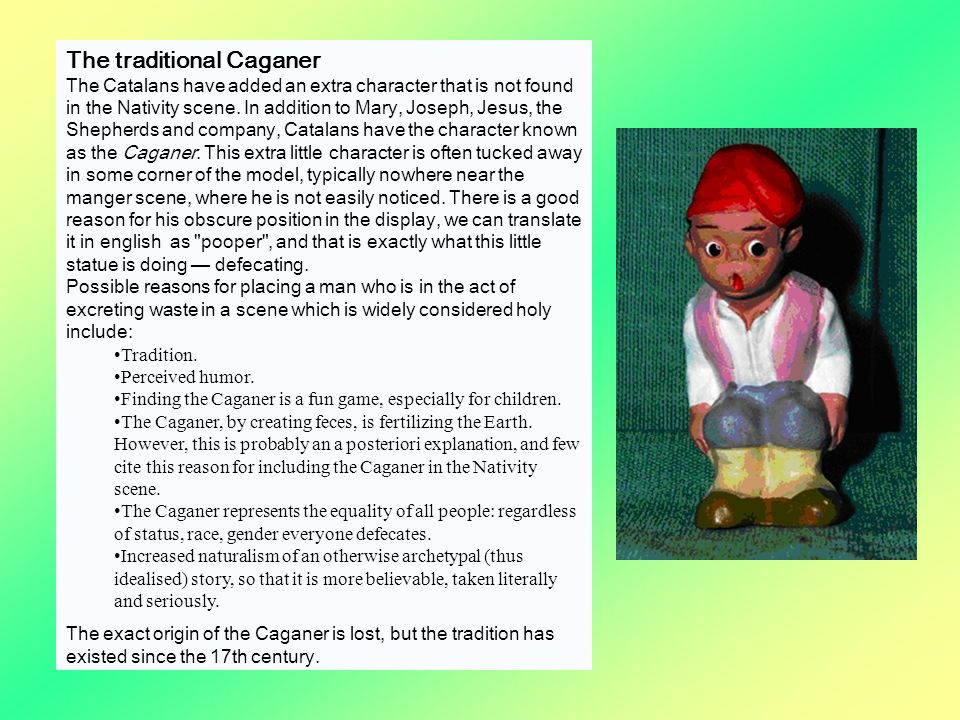 The traditional Caganer
