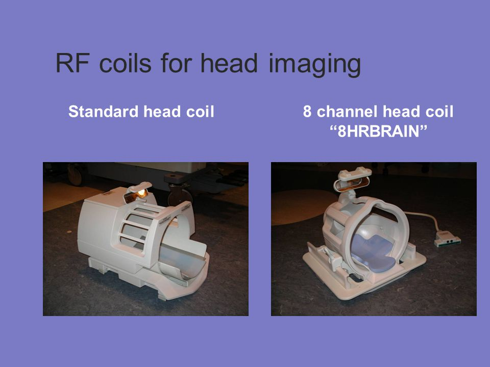 RF coils for head imaging