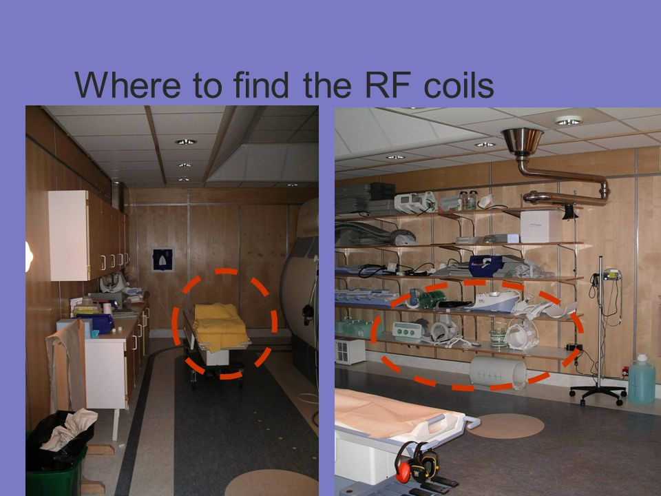 Where to find the RF coils