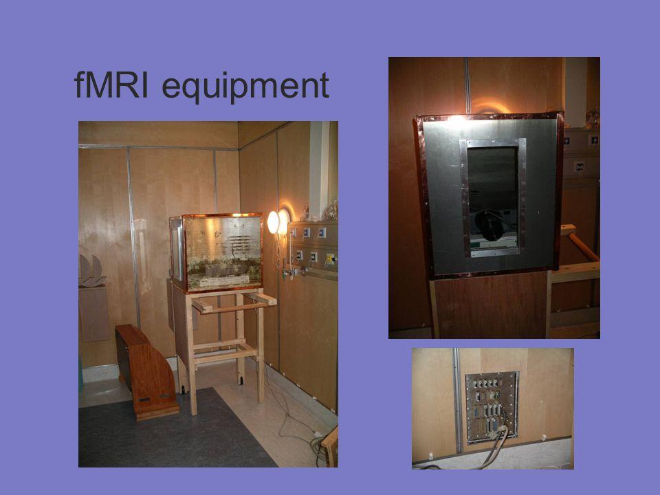 fMRI equipment