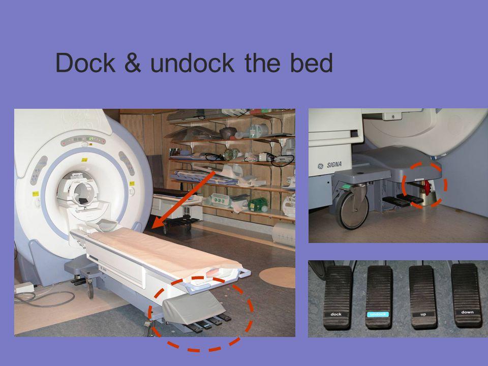Dock & undock the bed