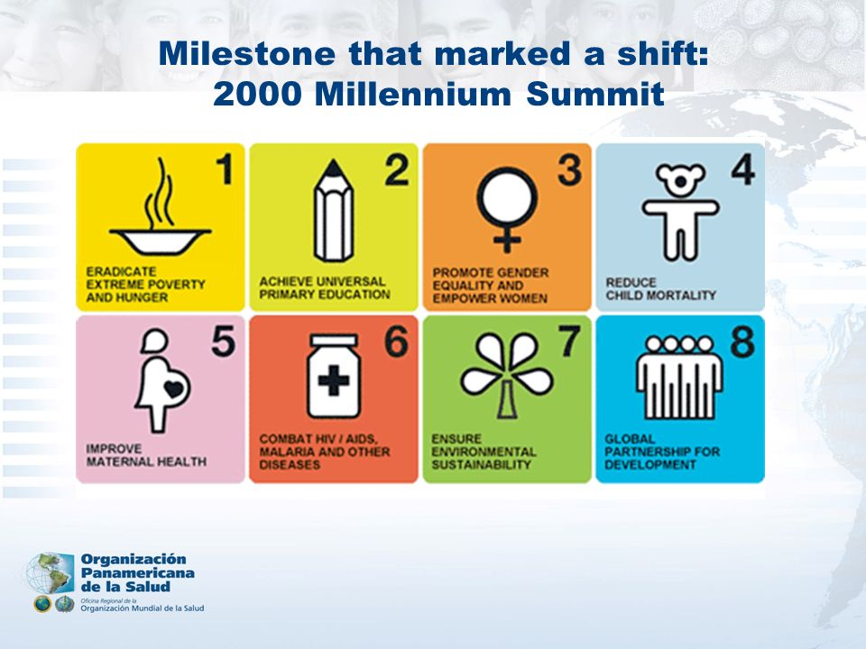 Milestone that marked a shift: 2000 Millennium Summit
