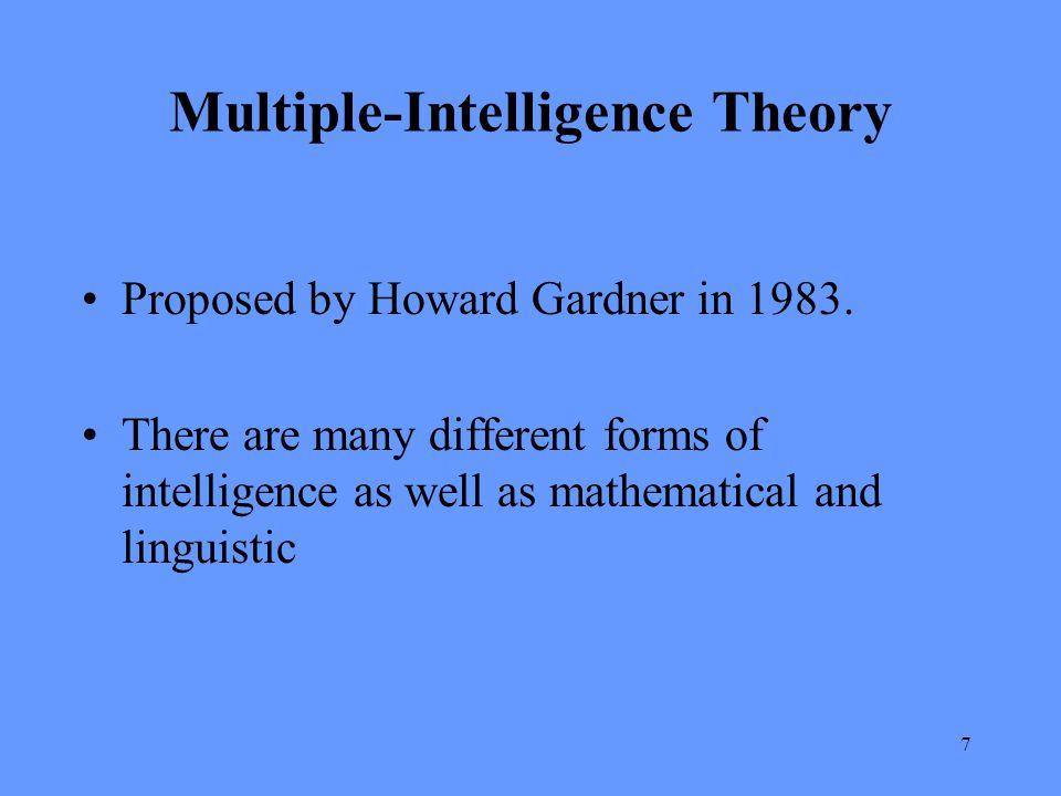 Multiple-Intelligence Theory