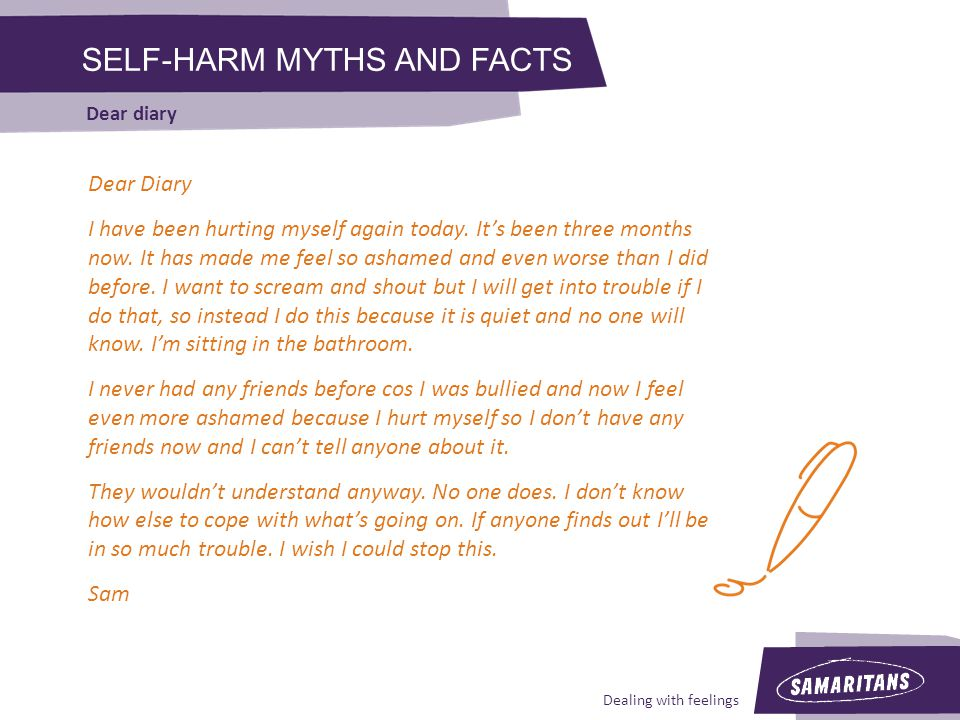 SELF-HARM MYTHS AND FACTS