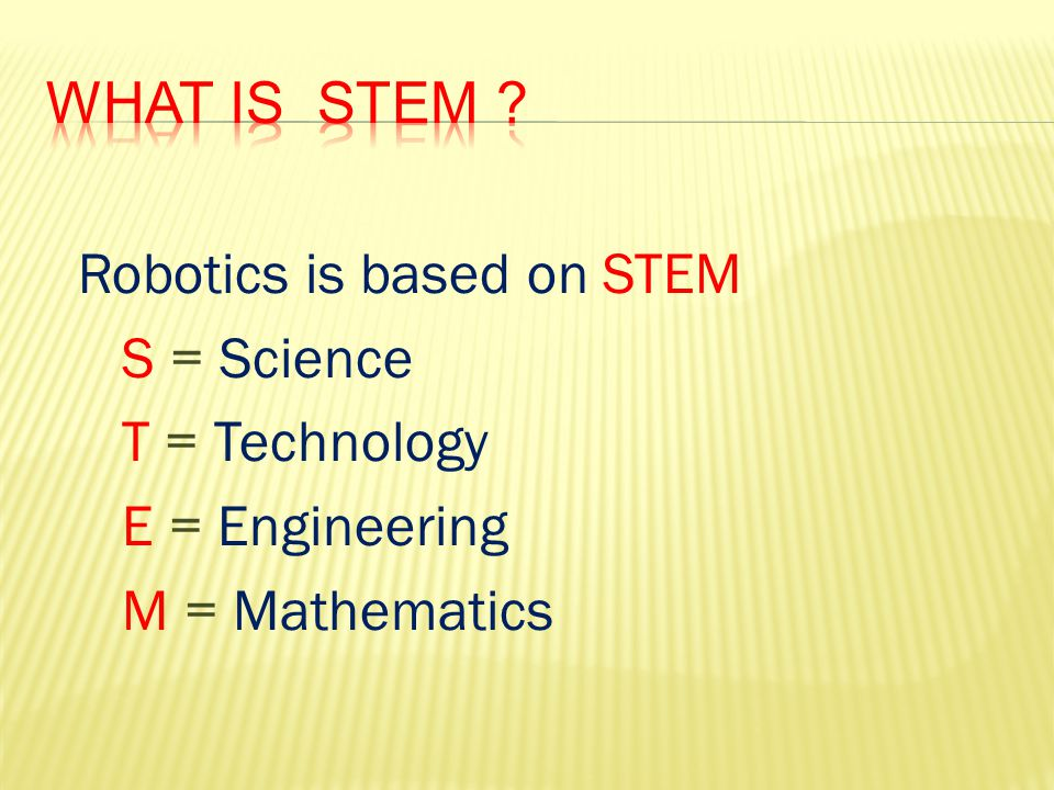 What is STEM .
