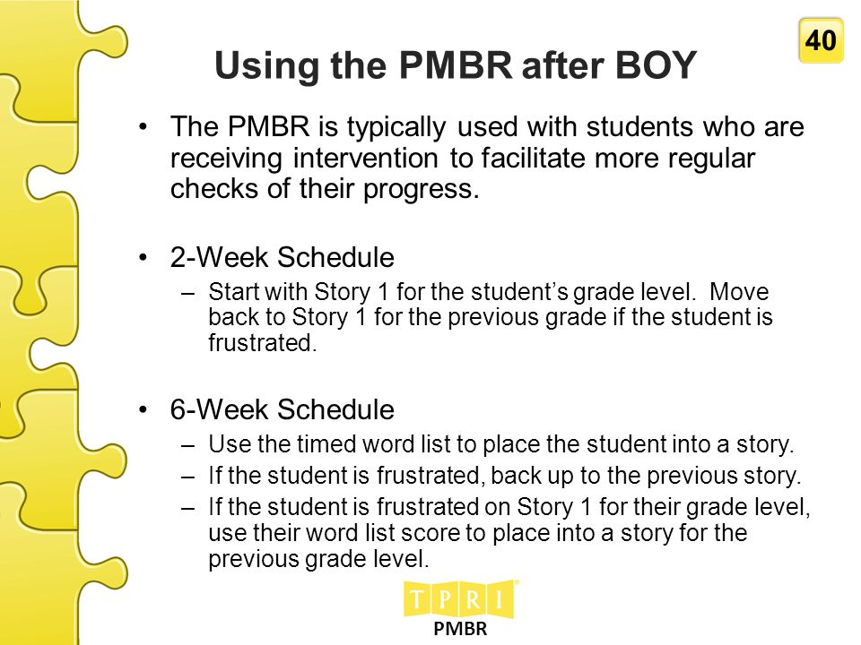 Using the PMBR after BOY