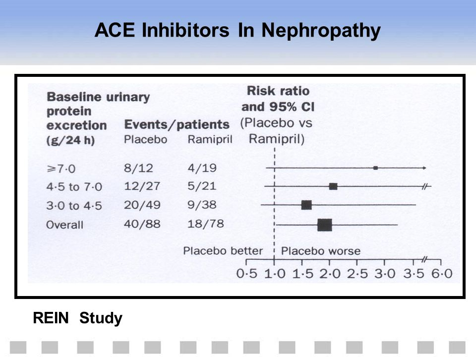 ACE Inhibitors In Nephropathy