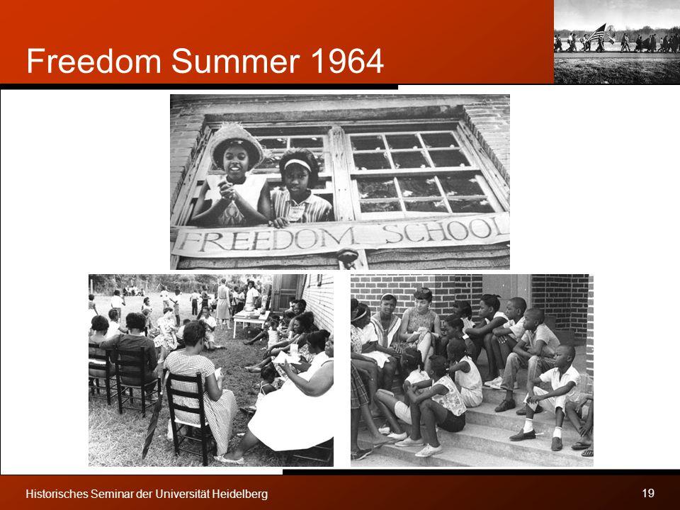 Freedom Summer 1964 Historisches Seminar der Universität Heidelberg