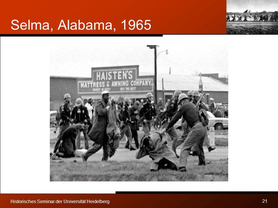 Selma, Alabama, 1965 Historisches Seminar der Universität Heidelberg