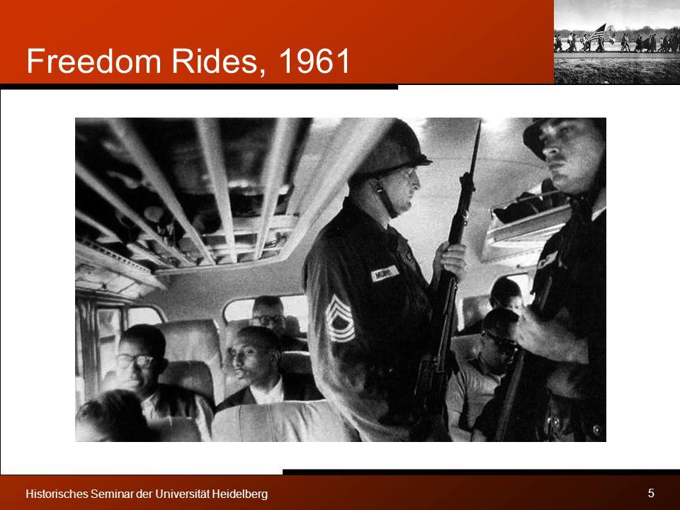 Freedom Rides, 1961 Historisches Seminar der Universität Heidelberg