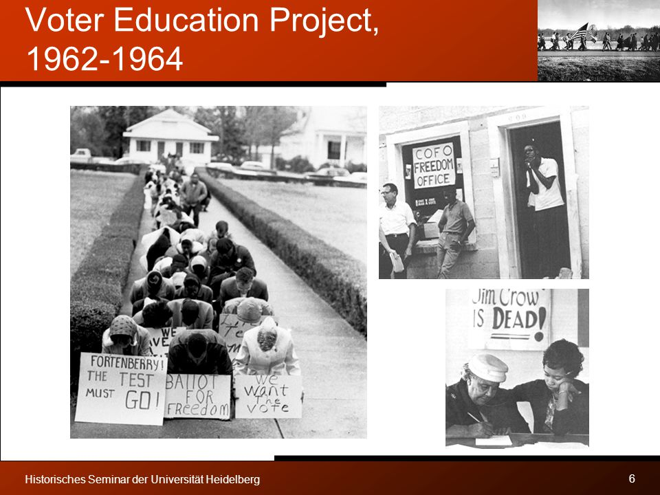 Voter Education Project, 1962-1964