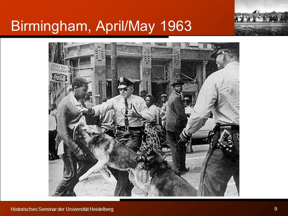 Birmingham, April/May 1963 Historisches Seminar der Universität Heidelberg