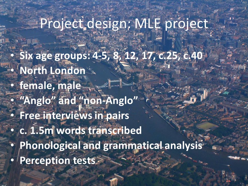 Project design: MLE project