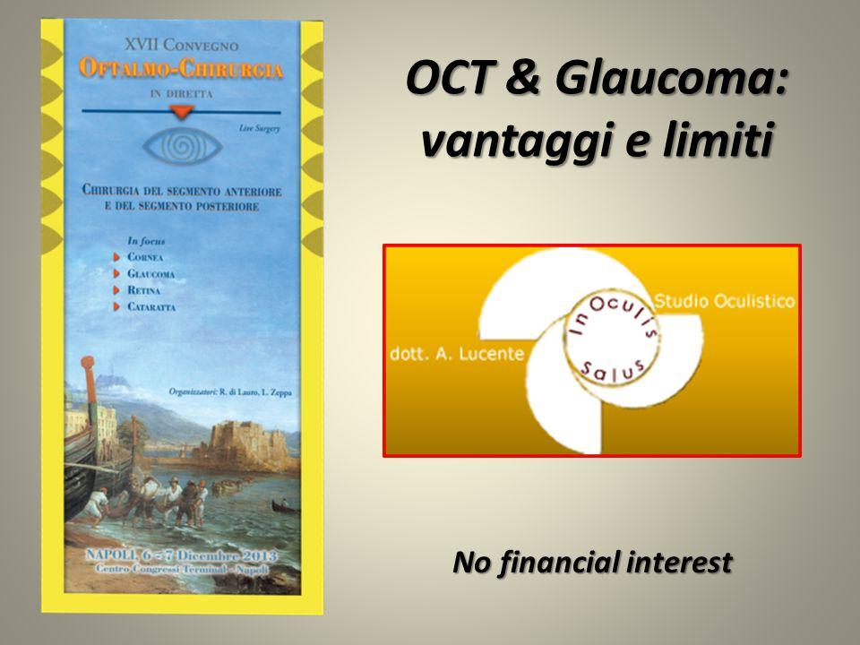 OCT & Glaucoma: vantaggi e limiti