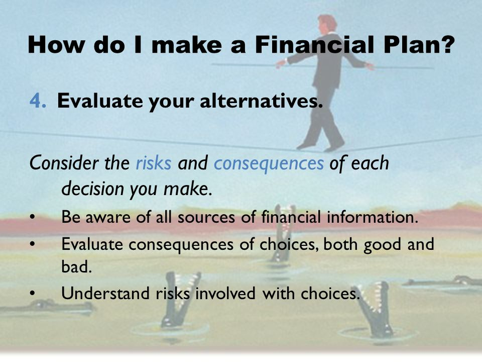 How do I make a Financial Plan