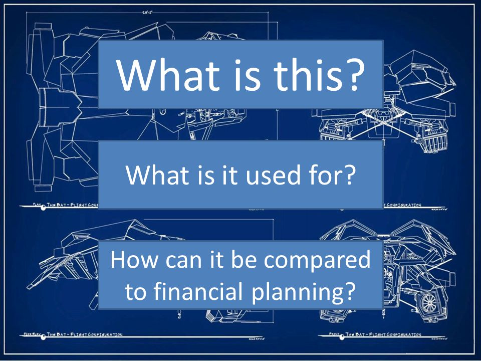 How can it be compared to financial planning