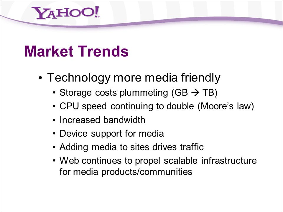 Market Trends Technology more media friendly