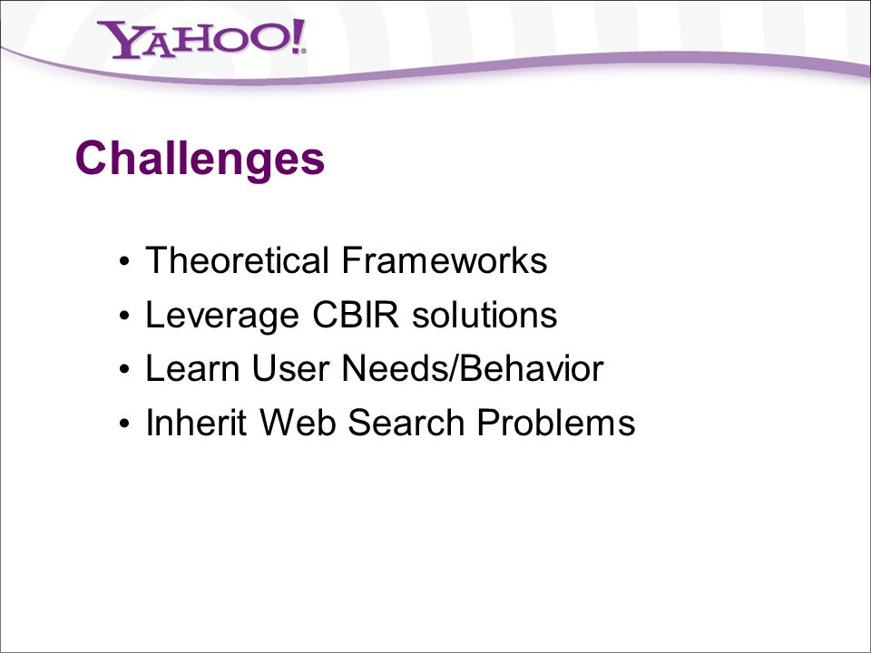 Challenges Theoretical Frameworks Leverage CBIR solutions