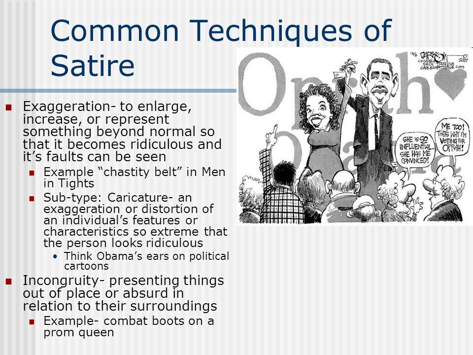 Common Techniques of Satire