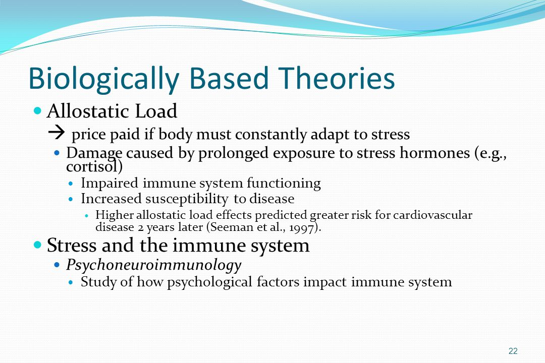 Biologically Based Theories