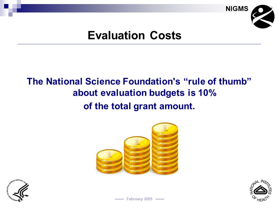 of the total grant amount.