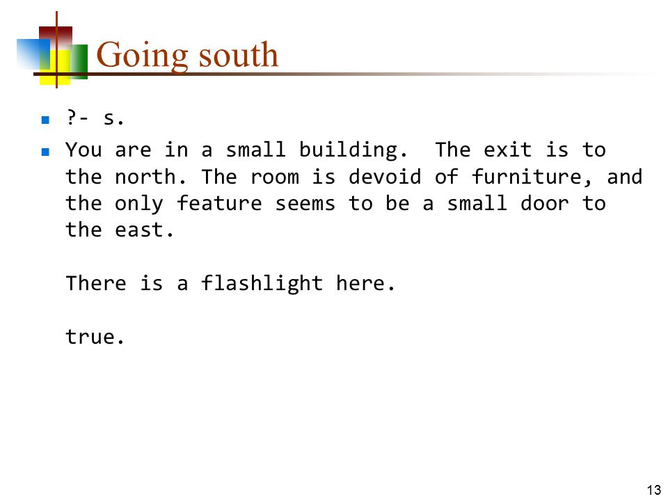 Going south - s.