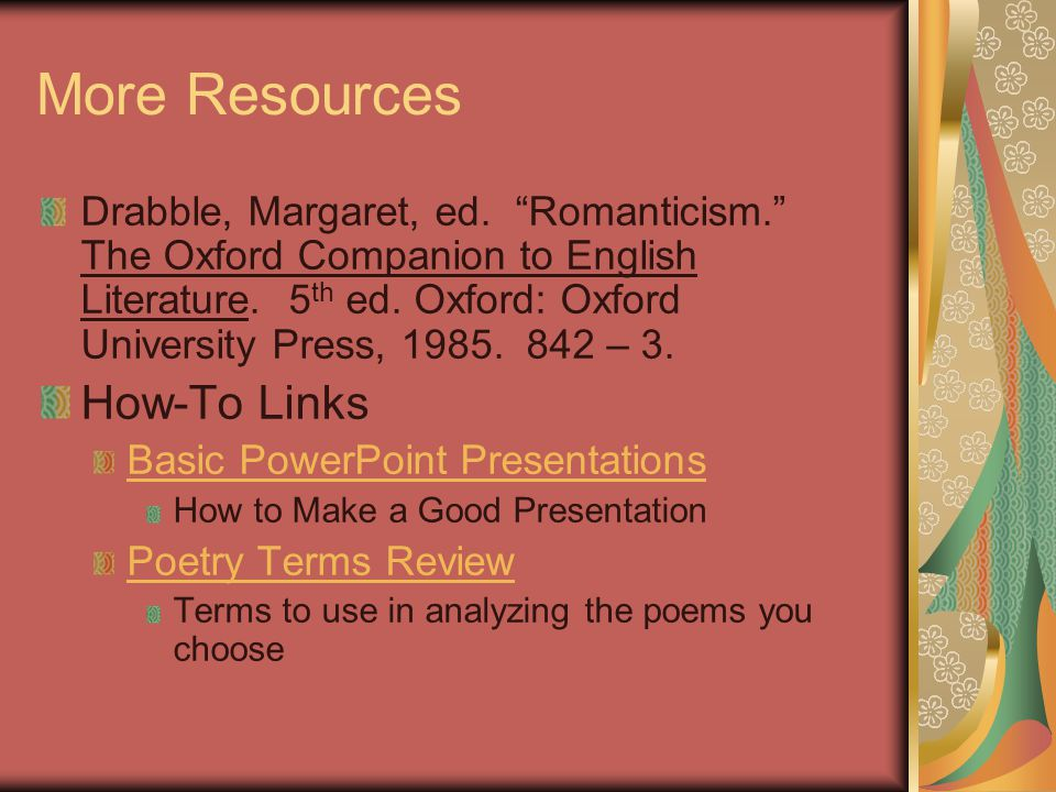 More Resources How-To Links