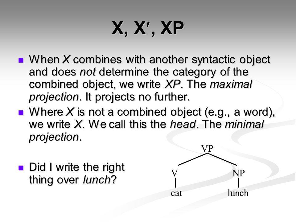 X, X, XP