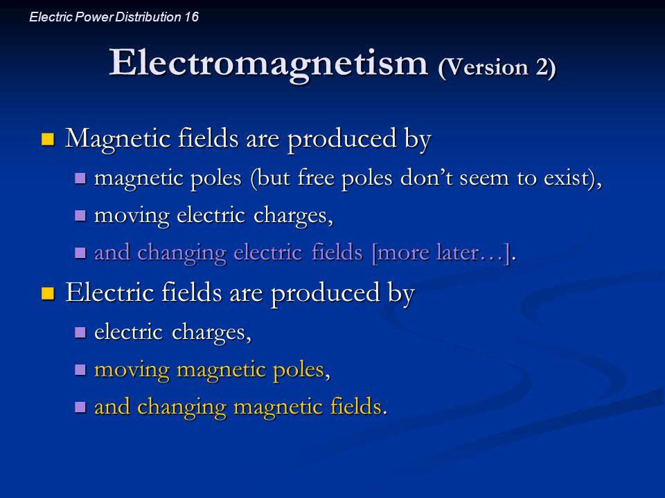 Electromagnetism (Version 2)