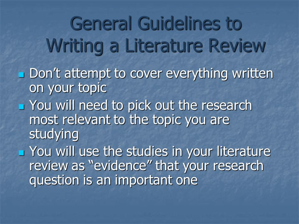 writing your thesis literature review In this article, we'll discuss the elements that make up a literature review, and provide you with a literature review outline to help you organize your own.