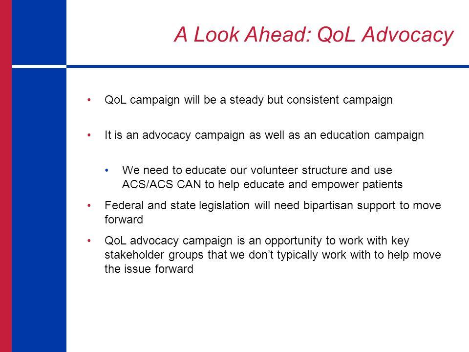 A Look Ahead: QoL Advocacy