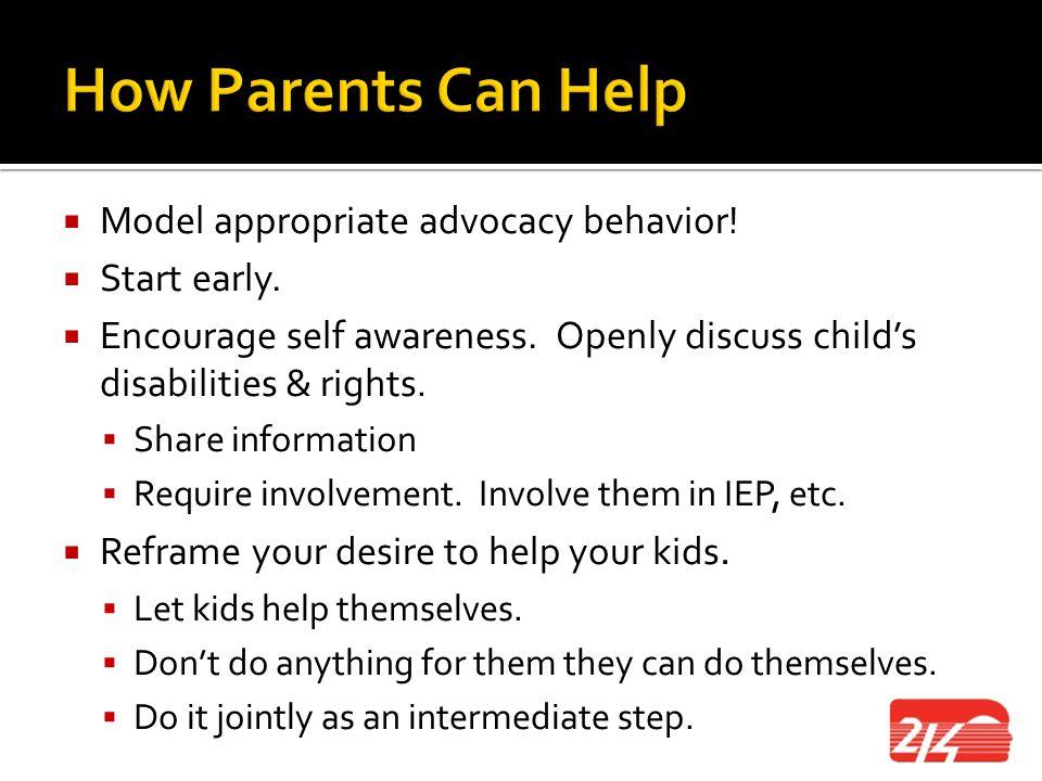Parent Advisory Council Presentation