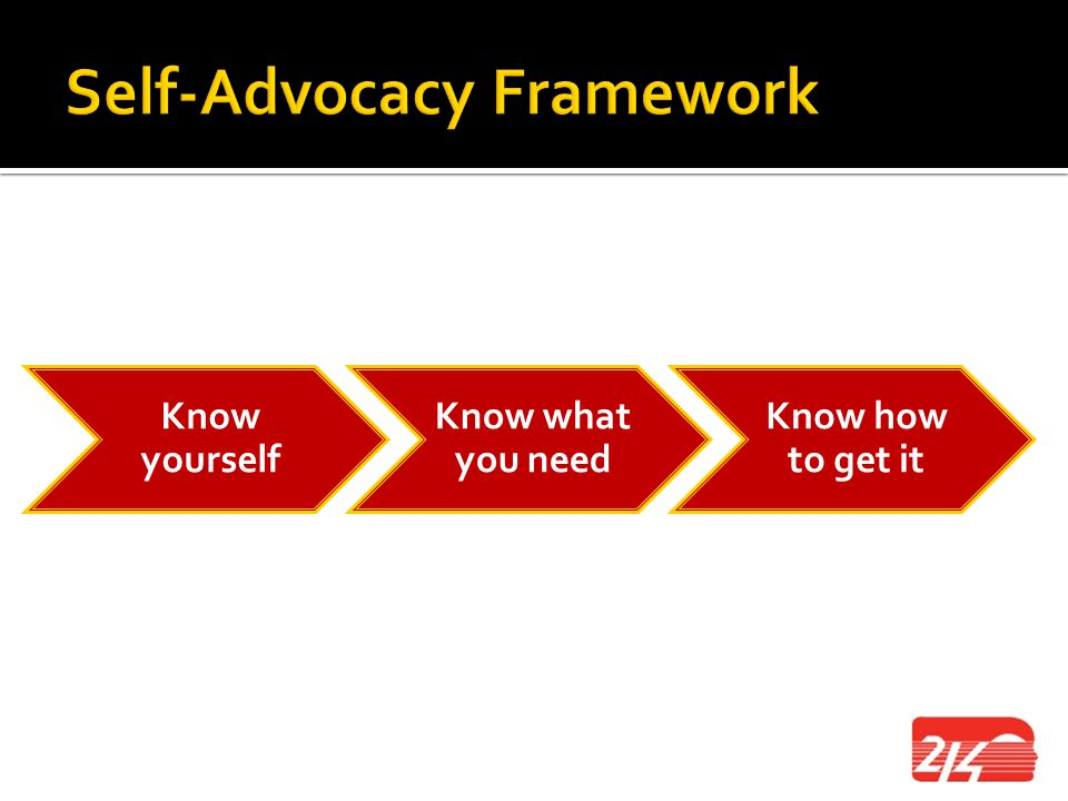 Self-Advocacy Framework