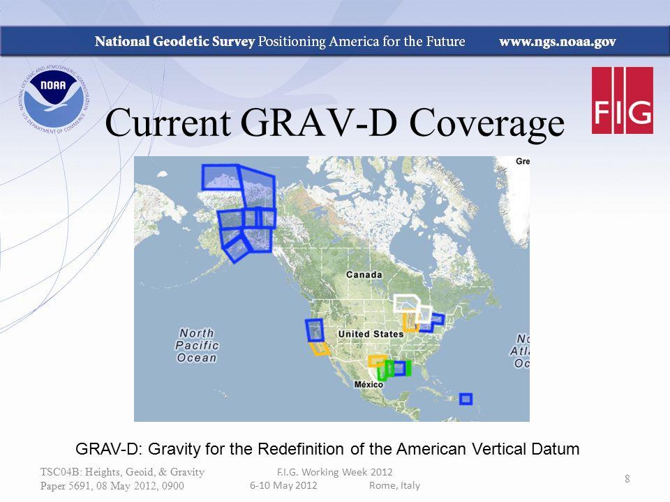 Current GRAV-D Coverage