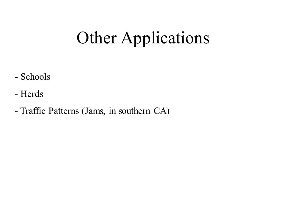 Other Applications - Schools Herds